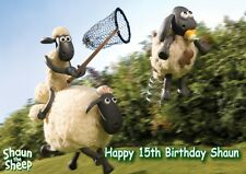 Personalized, Shaun The Sheep Birthday Card, Free p&p
