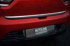 CHROME PORTA posteriore portellone Trim Striscia di copertura per adattarsi RENAULT CLIO IV (2012+)