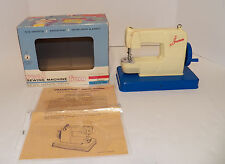 1963 FRANKONIA Toy SEWING MACHINE in ORIGINAL BOX with INSTRUCTIONS!!!