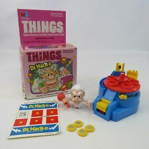 Vintage Dr. Wack-O Plastic Action T.H.I.N.G.S. Wind-Up Game 1987 Milton Bradley