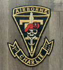 """U.S. Army 509th Parachute Infantry Geronimo Patch 1990s """"Unit Made"""" 10-1/2"""""""