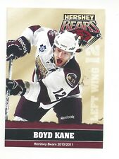2010-11 Hershey Bears (AHL) Boyd Kane
