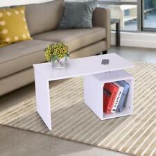 Homcom End Coffee Table Home Office Storage Display Desk Cabinet Stand Shelf