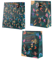Toucan Party Design Present Gift Bag Tote Wrap Extra Large Large Medium Handles