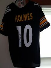 Santonio Holmes Autographed Custom Pittsburgh Steelers Jersey With JSA COA