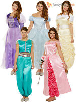 Adult Ladies Fairytale Fairy Princess Book Week Day Fancy Dress Costume 10 12 14