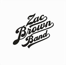Zac Brown Band Country Music Vinyl Die Cut Car Decal Sticker-FREE SHIPPING