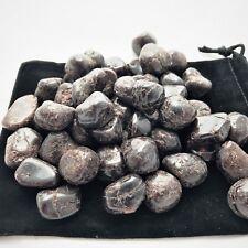 1/2 lb Lot Bulk Tumbled Garnet Natural Wholesale Zentron Crystals