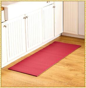 Cushioned Soft Kitchen Runner Rug Mat Anti-Fatique Comfort Home Decor ~4 Choices