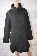 Zizzi Damen Mantel Trenchcoat Gr. s schwarz