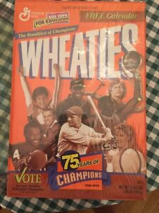 1999 75 years of Champions Wheaties box