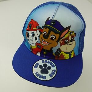 Paw Patrol Snapback Boys Cap Hat