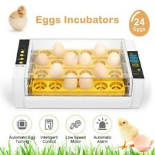24 Egg Incubator Digital Fully Automatic Mini Egg Hatching Poultry Machine UK
