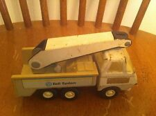 vintage Tonka brand Bell Telephone System Phone  truck Bucket Picker Vehicle old