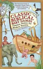 CLASSIC BIBLICAL BABY NAMES - TROPEA, JUDITH - NEW PAPERBACK BOOK