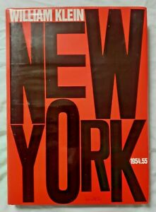 William Klein : New York 1954 1955 ed Marval Photos Photographie