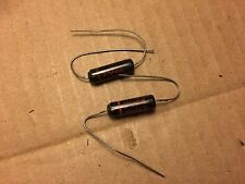 2 NOS Sprague Black Beauty .0033 uf 400v Capacitors 160P Tone Caps (Qty Avail)