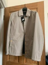 BNWT Genuine Alfred Dunhill Men's Fawn Coach Jacket Medium