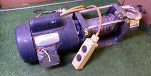 1 USED SUPERWINCH 1723 w/LEESON C6C17FC108A 1HP MOTOR ***MAKE OFFER***