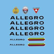 Allegro Bicycle Frame Decals - Transfers - Stickers n.100