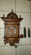 belle pendule horloge foret noire -carillon comtoise