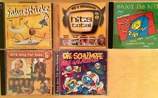 7 CDs Compilations Pop Hits 1995