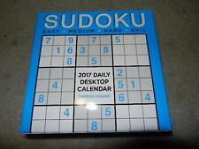 new sudoku 2017 daily Desktop Calendar '17 day desk top calender TF publishing