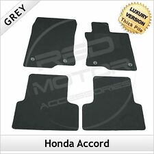 Honda Accord Mk8 2008-2015 Tailored LUXURY 1300g Carpet Car Floor Mats GREY