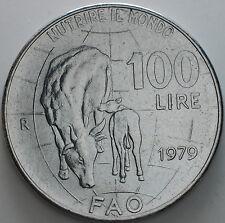 1979   Repubblica Italiana   100   lire    fdc   FAO