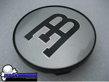 1 SINGLE GENUINE BBS BUGATTI ∃B SILVER WHEEL RIM CENTER CAP SMALL 55mm 20092