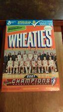 Empty Wheaties Box Phoenix Mercury 2007 WNBA Champions EX