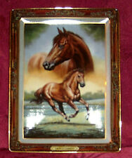 Collectible Thoroughbred Horse Plate, Franklin Mint