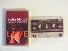 + K7 Audio - Alpha Blondy - Live au Zénith de Paris +