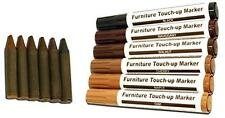 12pc Furniture Scratch Restore & Repair Touch-Up Kit - 6 Wax Stick Crayons & 6 F