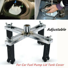 1*Car Fuel Pump Lid Tank Cover Multi-function Remover 4-jaw Spanner Wrench Tools