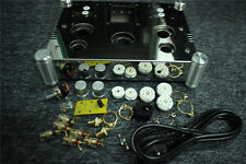 Amplifier Chassis Stainless Steel perforated Casing DIY EL34 Audio Chassis 1set