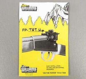 WILLIAMS REAR RECEIVER TARGET SIGHT & MOUNT 22 Caliber FP-TGT Rifle Gun Part