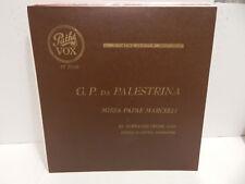 ST. EUSTACHE CHOIR MISSA PAPAE MARCELLI G.Pierluigi da PALESTRINA 1951 VOX LP NM