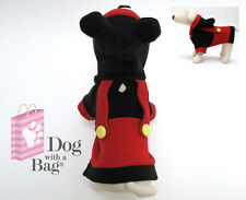 Disney Mickey Mouse Halloween Yorkie Chihuahua Dog Fleece Coat X-Small XS