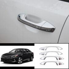 For Kia K5 Optima 2016-2020 ABS chrome exterior outside door handle cover trim