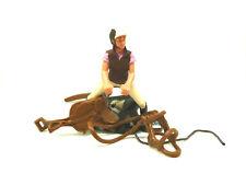 Schleich Bauernhof Pony Reiterin Reitset Reiter für  Schleichpferde 9-19-11