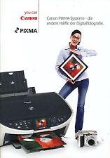 Prospekt Katalog Canon Pixma Fotodrucker 2005 Drucker Tintenstrahldrucker