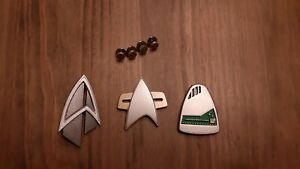 Star Trek Communicator & Holoemitter Prop Replica