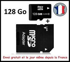 Micro SDHC/SDXC 128 Go Ultra 80 Mo/SEC Class 10 U1 UHS1 Carte Mémoire, EN PROMO