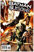 Batman and the Outsiders (2007) #6 NM 9.4 Doug Braithwaite Cover Chuck Dixon