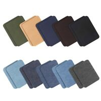 On Patches Jacket Jean Clothes Denim Patches Iron-On Repair Patches Kit 3.7 N6E6