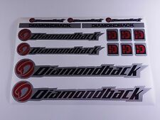 DIAMONDBACK Bicycles Bikes Frames Repair Decals Stickers BMX Mountain MTB  751MD