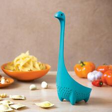 Mamma Nessie Colander Spoon Turquoise Standing OTOTO - The Original New Genuine