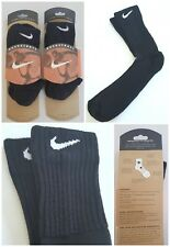 OG 1998 NIKE BASKETBALL CREW SOCKS 2 PAIRS TUBE TRAINER SOCKS DS VTG 90s MEN XXL