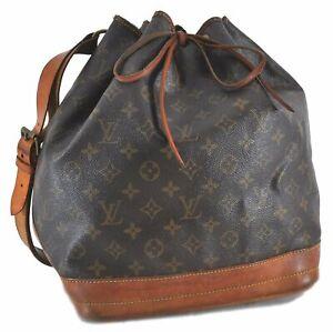 Authentic Louis Vuitton Monogram Noe Shoulder Bag M42224 Junk LV C9167